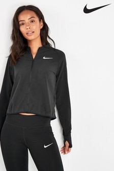 Nike Run Black Running Jacket