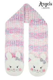 Angels by Accessorize Fluffy Bunny Space Dye Scarf
