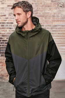Shower Resistant Colourblock Anorak