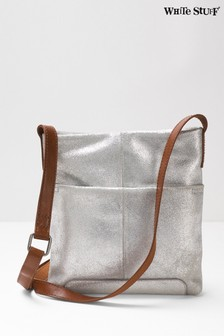 White Stuff Grey Mini Issy Cross Body Bag
