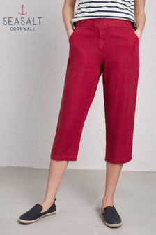 Seasalt Maple Brawn Point Crop Trouser