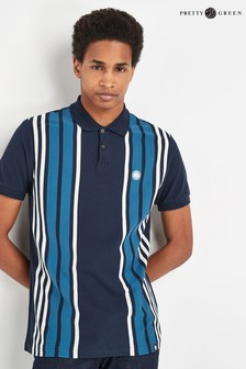 Pretty Green Navy Walsh Polo
