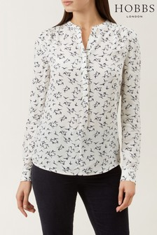 Hobbs Cream Charlie Shirt