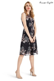 Phase Eight Multi Audrina Embroidered Fit & Flare Dress