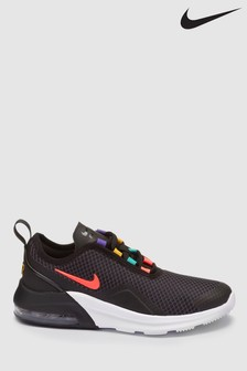 Nike Black/Multi Air Max Motion 2 Youth Trainers