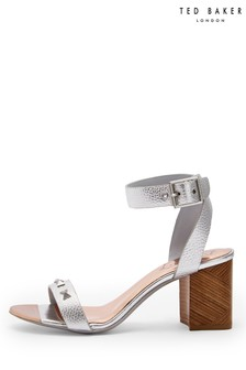 Ted Baker Black Heeled Sandal