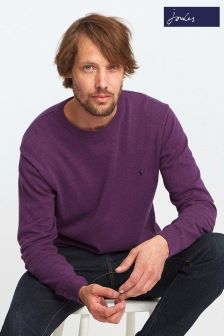 Joules Purple Crew Neck Sweater