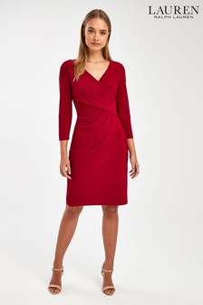 Ralph Lauren Red Cleoa Dress