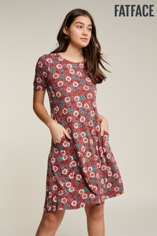 FatFace Pink Simone Posy Vine Dress
