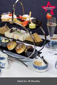 Prosecco Afternoon Tea At The Strand Palace Hotel For Two by Activity Superstore
