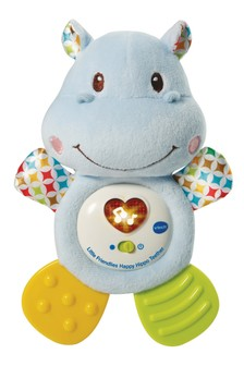 VTech Little Friendlies Happy Hippo Blue Teether