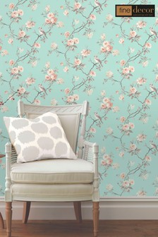 Chinoiserie Floral Wallpaper by Fine Décor