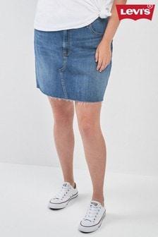 Levi's® Plus Deconstructed Denim Skirt