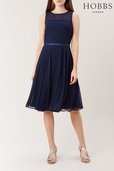 Hobbs Blue Abigale Dress
