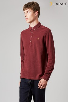 Farah Red Merriweather Polo