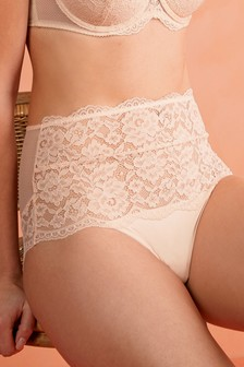 Lace High Waist Knickers