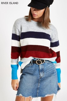 River Island Multi Stripe Jumper
