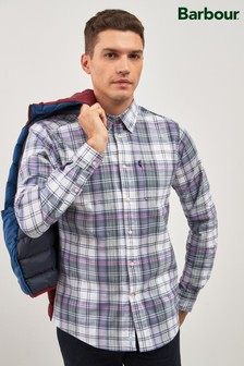 Barbour® Lilac Oxford Check Shirt