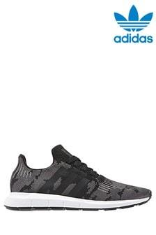 נעלי Swift בהדפס קמופלאז' אפור של adidas Originals
