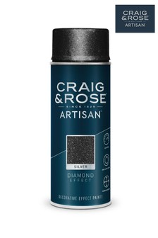 Craig & Rose Silver Diamond Effect Spray Paint