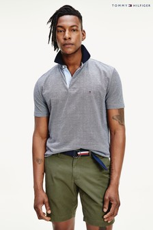Tommy Hilfiger Blue Undercollar Regular Polo