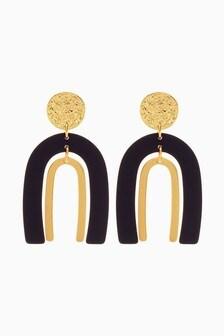 U-Shape Drop Earrings