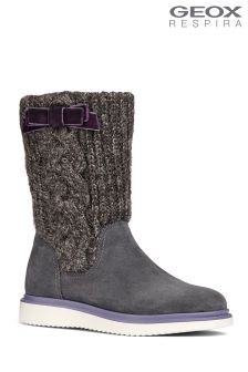 Geox Thymar Girl Dark Grey Boot
