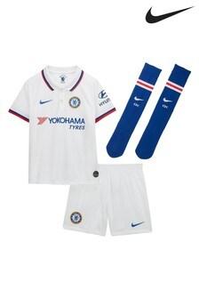 Nike White Chelsea Football Club 2019/2020 Away Kit