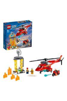 LEGO® City Fire Rescue Helicopter 60281