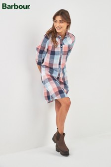 Barbour® Gingham Seaglow Shirt Dress