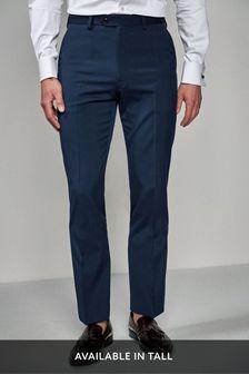 Anzughose mit Stretch, changierend
