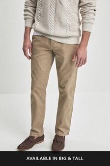 Комфортные брюки чинос с эластичным поясом