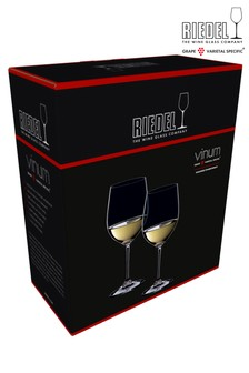 Set of 2 Riedel Vinum Viognier Chardonnay Wine Glasses
