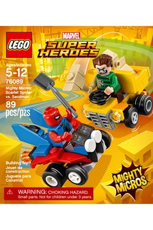 LEGO® Marvel™ Super Heroes Mighty Micros: Scarlet Spider Vs. Sandman