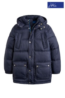 Joules Navy Padded Coat