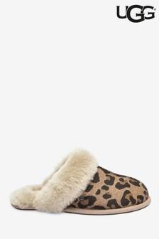 UGG® Scuffette II Leopard Print Slippers