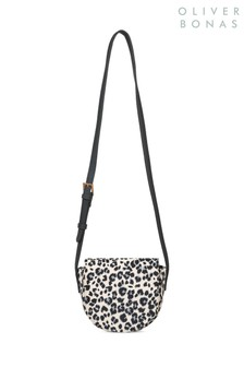Oliver Bonas Leopard Cross Body Bag