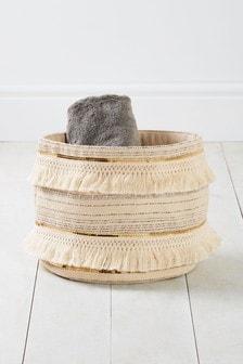 Tassle Basket