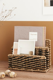 Seagrass Letter Rack