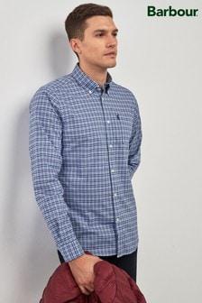 Barbour® Blue Highland Check Shirt