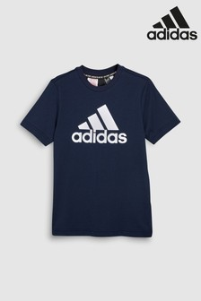 adidas Badge of Sport Navy Tee