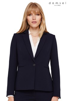 Damsel In A Dress Blue Amelia City Suit Jacket