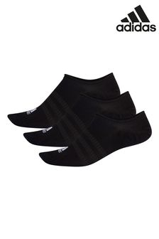 adidas Adult Black Trainer Socks Three Pack