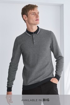 Textured Tipped Polo