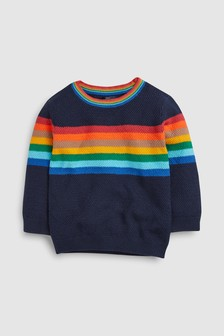 Rainbow Knitted Crew (3mths-7yrs)
