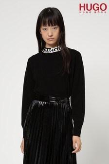 HUGO Black Sushana Knit Jumper