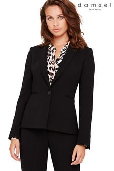 Damsel In A Dress Black Amelia City Suit Jacket
