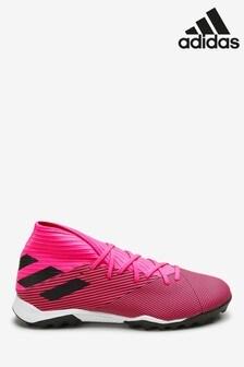 adidas Pink Hardwired Nemeziz Turf Football Boots