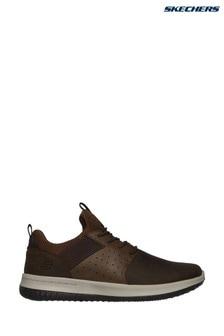 Pantofi sport Skechers® Delson Axton maro