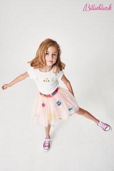 Billie Blush Pink Mesh Skirt